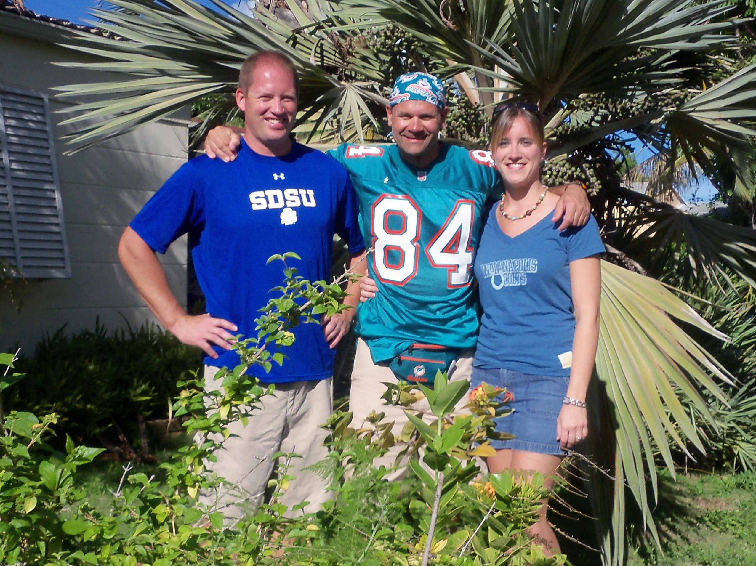 9-21-09 Friends Before MNF In Miami, Florida