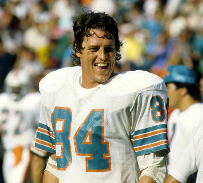 Bruce Hardy 84 Tight End '79-'89