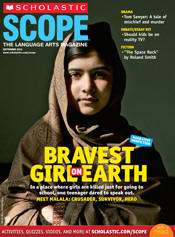 SCOPE cover in 2013